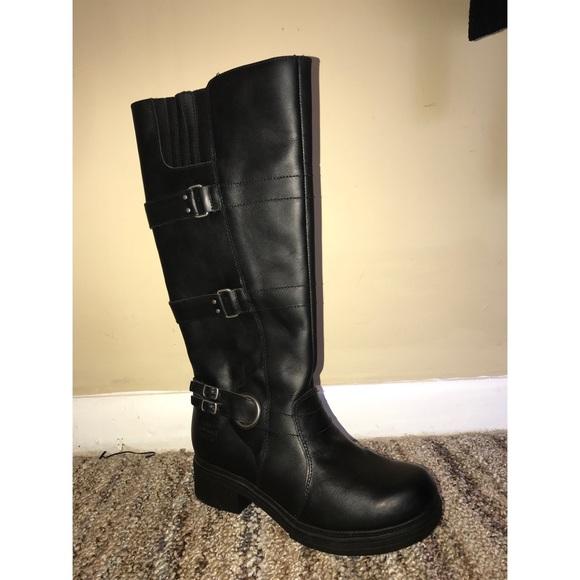 2ef74a037e4 Harley Davidson Leather Knee High Boots